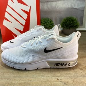 NEW Nike Air Max Sequent White Running / 7, 8, 8.5